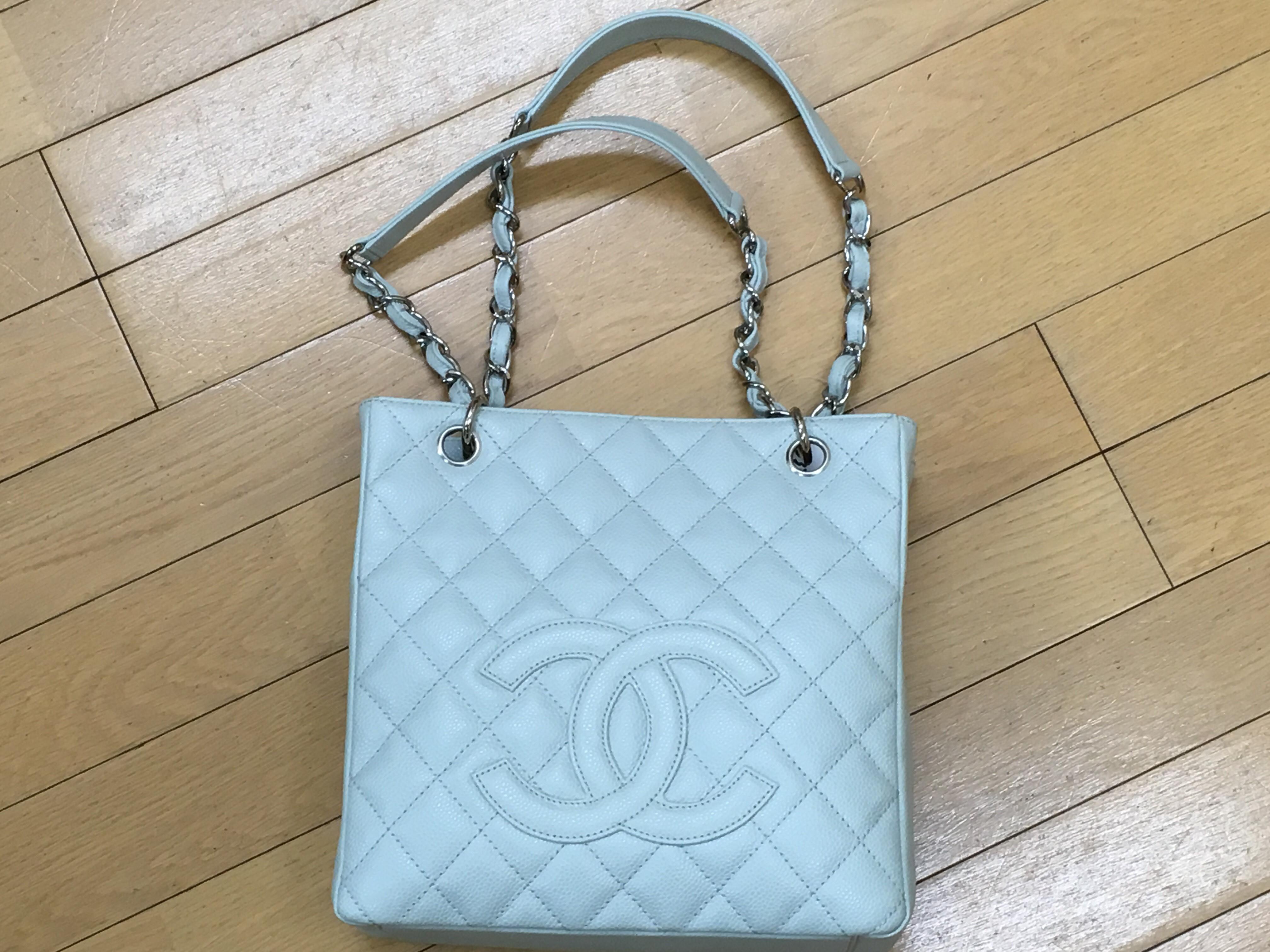 2bbc8f516f95 京都の質屋丸福が買取りました☆シャネルCHANEL チェーンショルダートート バッグ